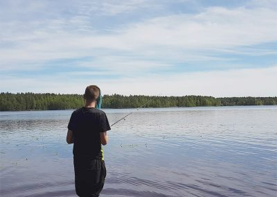 kalastelua